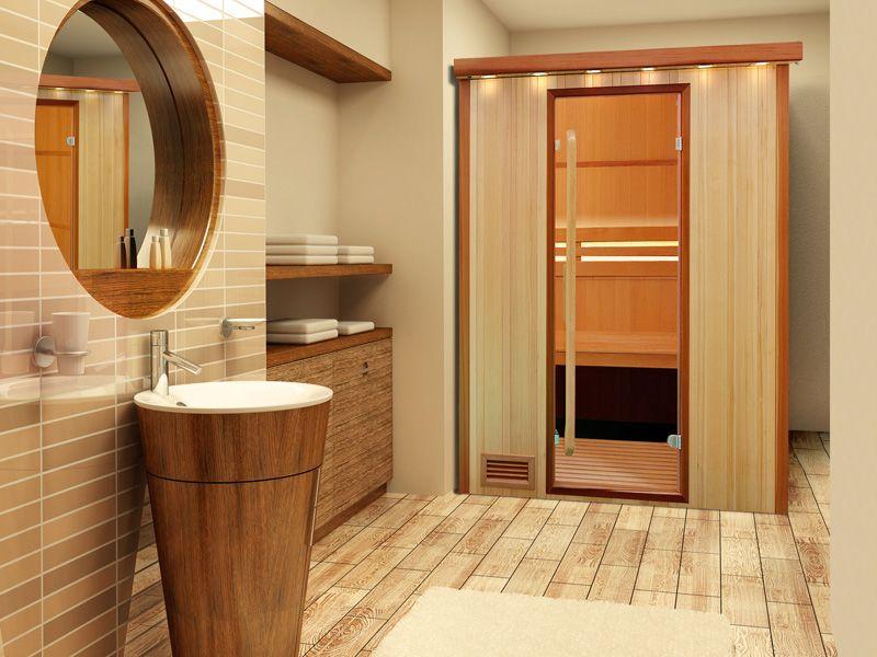 Sauna Finlandese  Sauna da casa Fuji - 2 Posti - Sauna Finlandese