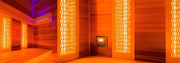 Sauna Finlandese  Sauna Finlandese e Infrarossi OSLO - 4 Posti - Sauna Finlandese