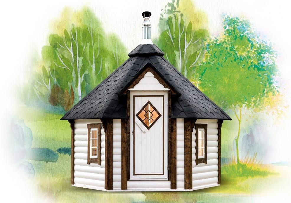 sauna finlandese da esterni Loki