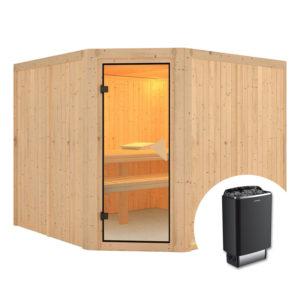 sauna finlandese FARIN con stufa