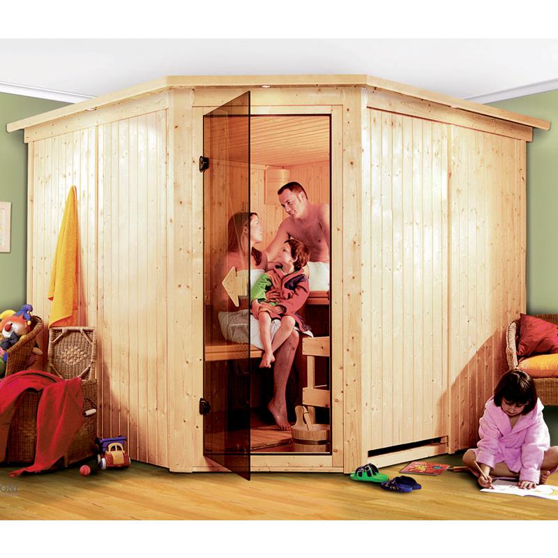 sauna farin 4 posti