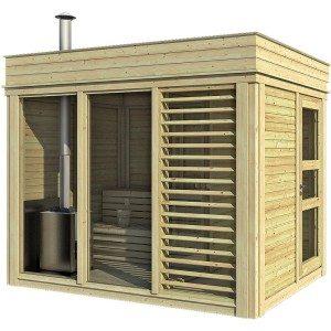 sauna finlandese 5 posti ares