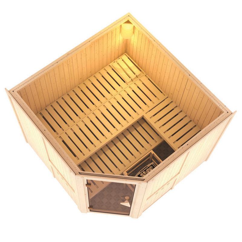 sauna finlandese farin