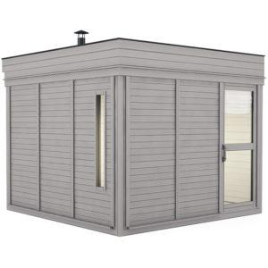 sauna finlandese da esterno small ares 6 posti