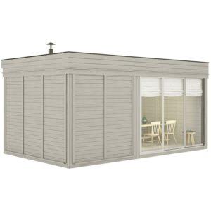sauna finlandese da esterno medium 6 posti