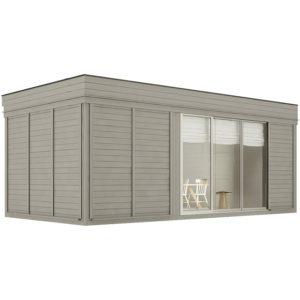 sauna finlandese da esterno large 6 posti