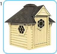 sauna finlandese da esterno lars struttura