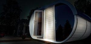 sauna finlandese da esterno laila