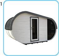 sauna finlandese da esterno laila struttura