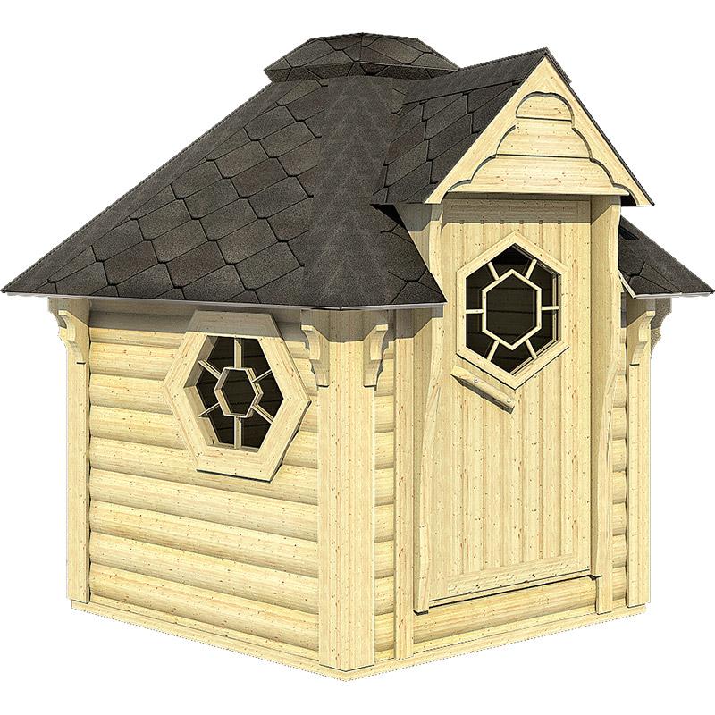 sauna finlandese da esterno lars
