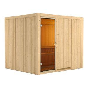 sauna finlandese gobin kit solo sauna