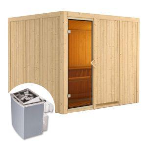 sauna finlandese gobin kit sauna e stufa